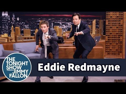 The Tonight Show Starring Jimmy Fallon: Eddie Redmayne Teaches Jimmy a Fantastic Beasts Mating Dance