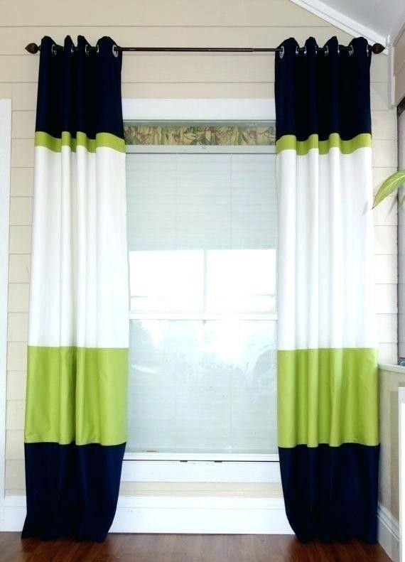Pin By Norma Malagarie On Curtain Cuteness Color Block Curtains