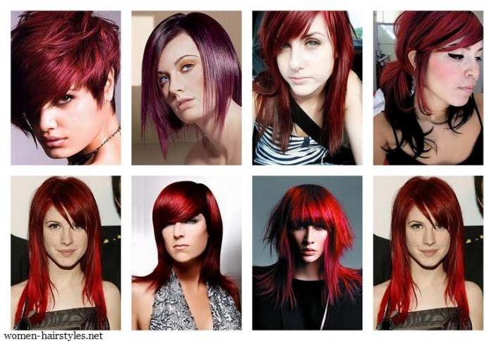 | Red Hair Shades Dark Dye Women - Free Download Red Hair Shades Dark ...