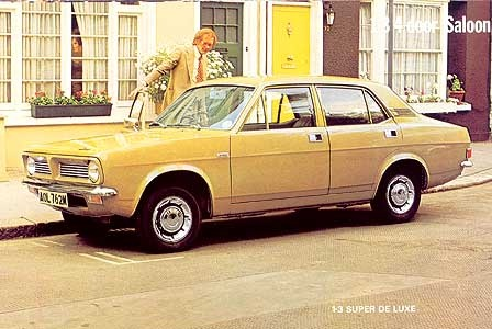 The Morris Marina was launched as the car with 'Beauty with brains' (a bit of a stretch to say the least!)