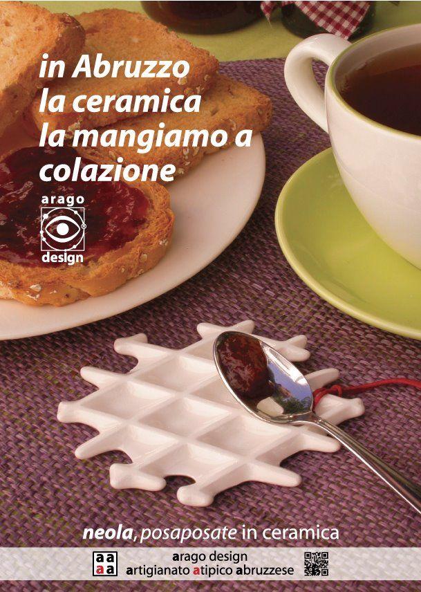 Neola in Ceramica bianca (Arago Design)