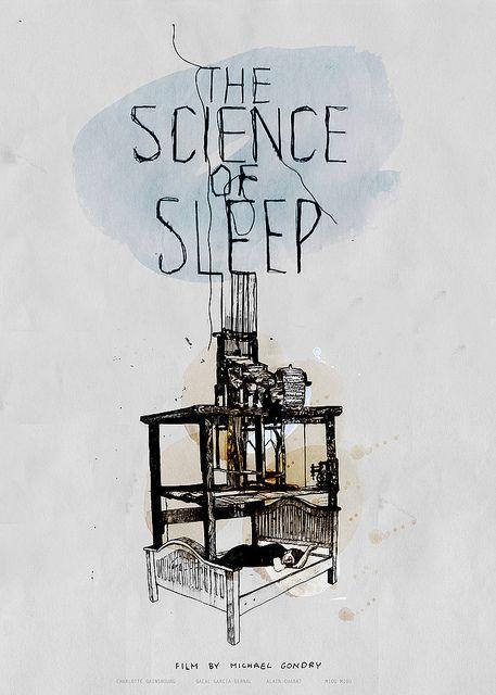 science of sleep POSTER by Marcelina amelia, via Flickr