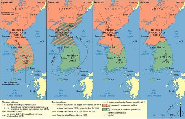 Corea, guerra de Coreas