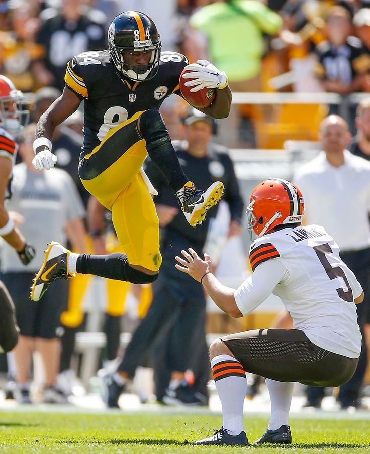Antonio Brown, WR, Steelers (2010) : 10 NFL stars who overcame the worst Combines