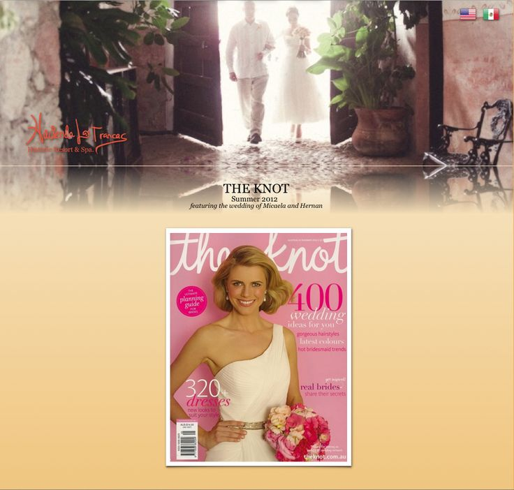 Michaela and Hernan's Wedding featured in The Knot!