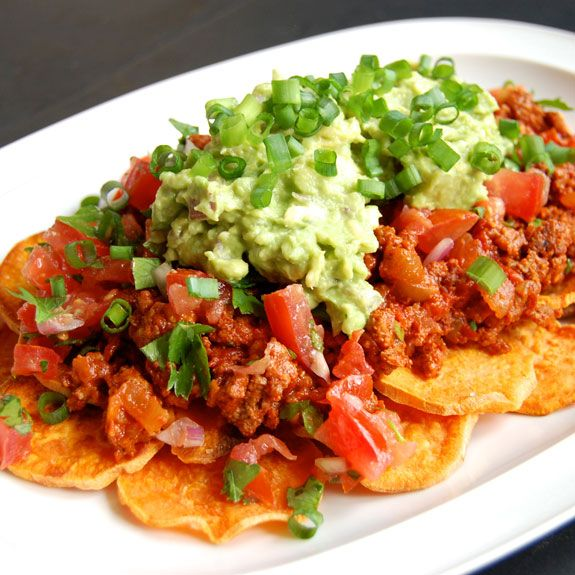 Addictive and Healthy Paleo Nachos- you will want to make these nachos over, and over, and over…
