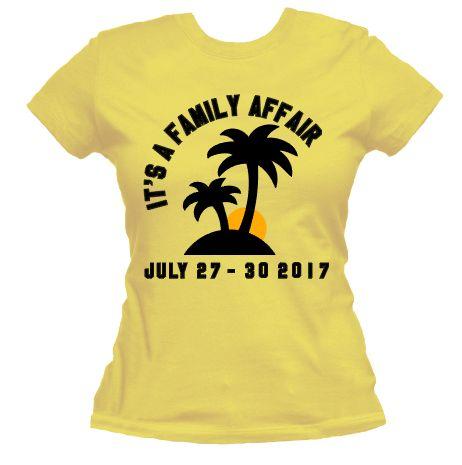 Family Affair - Custom Women's Tee