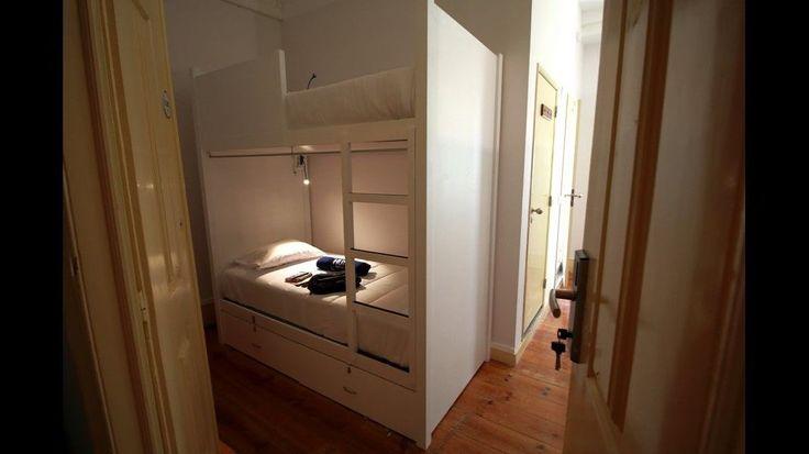 8 Mix dorm ensuite - Hub New Lisbon Hostel