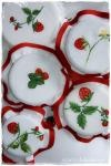 Strawberries jar covers