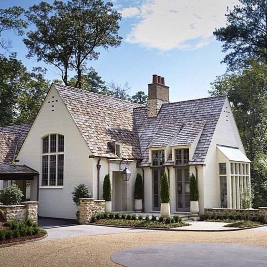 A charming French inspired house by Birmingham architects Shepard and Davis