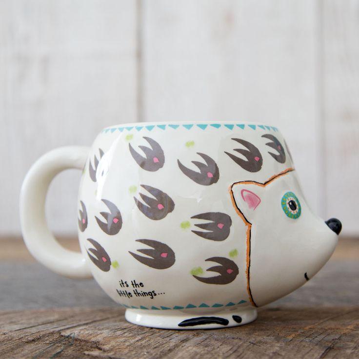 Folk Art Mug - Hedgehog
