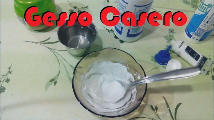 Gesso Casero [FACIL Y ECONOMICO] Scrapbook facil