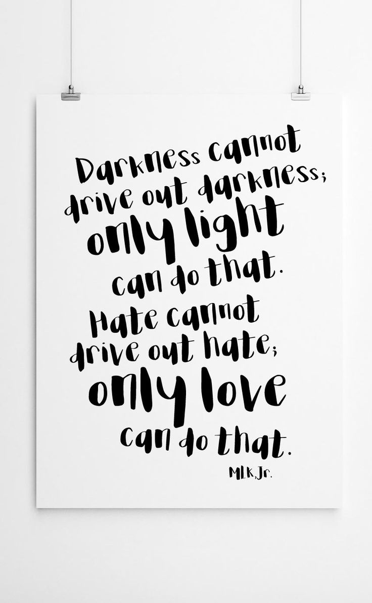 """Only Love Can Do That"" – MLK Quote Free Printable 