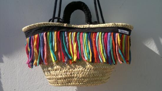 cesta-capazo de paseo carnival cesta-capazo cesta-capazo de palma,cordón trapillo biés,tejido cestería,cosido a mano