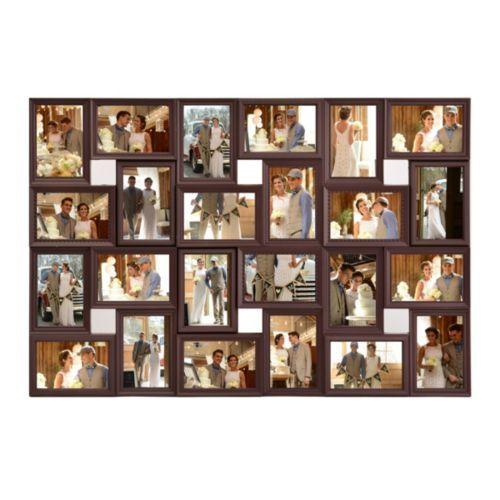 Brown 24-Opening Collage Frame   Kirklands