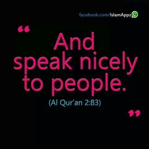 """Qur'an al-Baqarah 2:83: And [recall] when We took the covenant from the Children of Israel, [enjoining upon them], """"Do not worship except Allah ; and to parents do good and to relatives, orphans, and the needy. And speak to people good [words] and establish prayer and give zakah."""" Then you turned away, except a few of you, and you were refusing."""