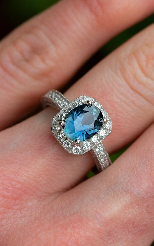 Pin On Sapphire Engagement Rings