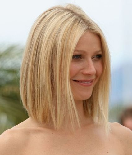 More long Bob: Long Hair Style, Gwyneth Paltrow, Hair Colors, Shorts Hair, Angles Bobs Haircuts, Hair Cut, Hairstyle, Long Bobs, Gwynethpaltrow