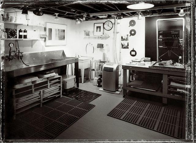 darkroom polaroid by motelrodeo, via Flickr