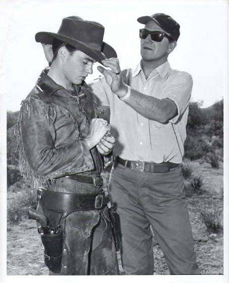 John Wayne and Ricky Nelson