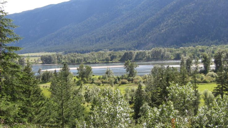 A beautiful valley view from a country property for sale in BC Canada. See more...