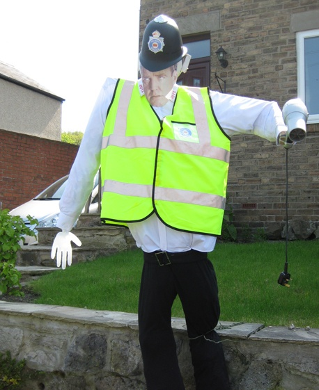 """Jeremy Clarkson scarecrow""...this is amazing."