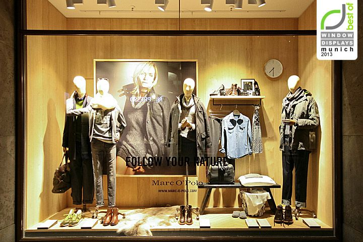marc o 39 polo windows 2013 autumn munich germany visual merchandising pinterest polos. Black Bedroom Furniture Sets. Home Design Ideas