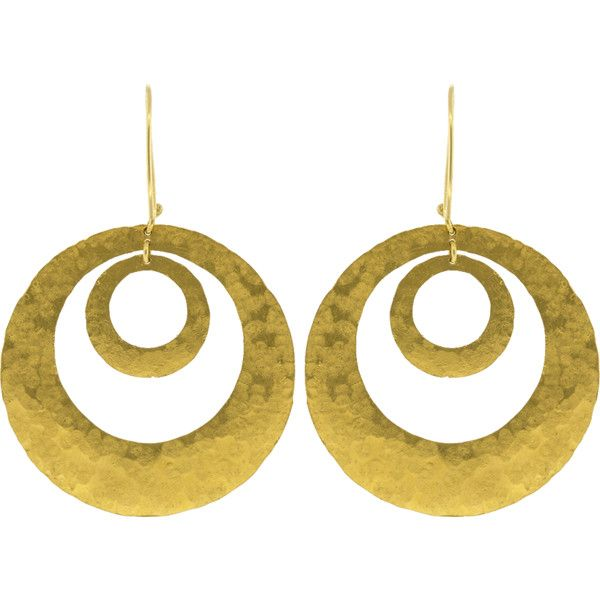 Boaz Kashi Circle Hoop Earrings ($4,890) ❤ liked on Polyvore featuring jewelry, earrings, yellow gold hoop earrings, circle earrings, gold jewelry, 24k jewelry and 24k gold jewelry