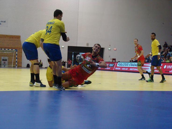 Handbal masculin: România a pierdut meciul cu Belarus din preliminariile C.E.