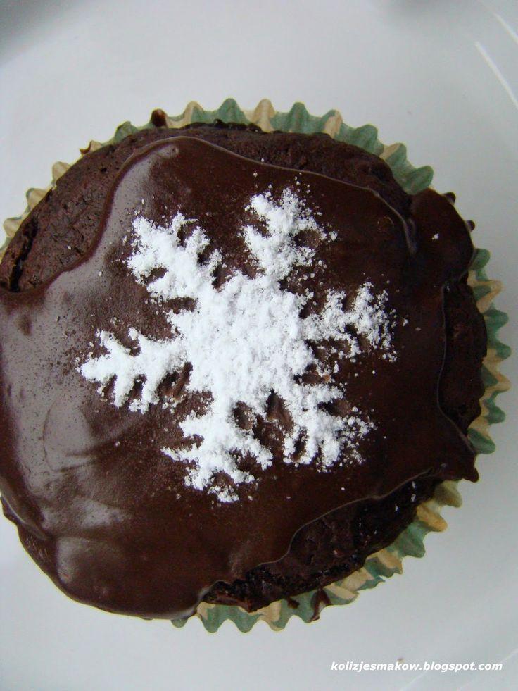 Muffinki powidłowe