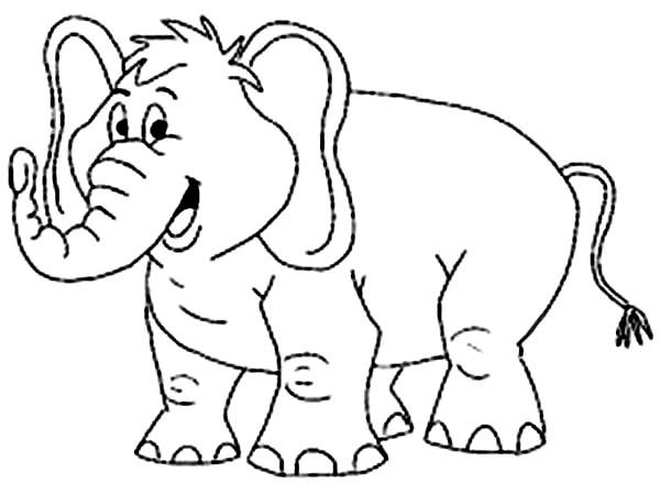 halloween elephant coloring pages - photo#45
