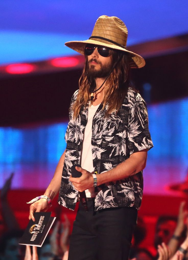 Jared Leto's best 2014 MTV Movie Awards moments in photos and videos.