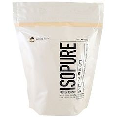 Nature's Best, IsoPure, IsoPure, Whey Protein Isolate, Protein Powder, Unflavored, 1 lb (454 g)