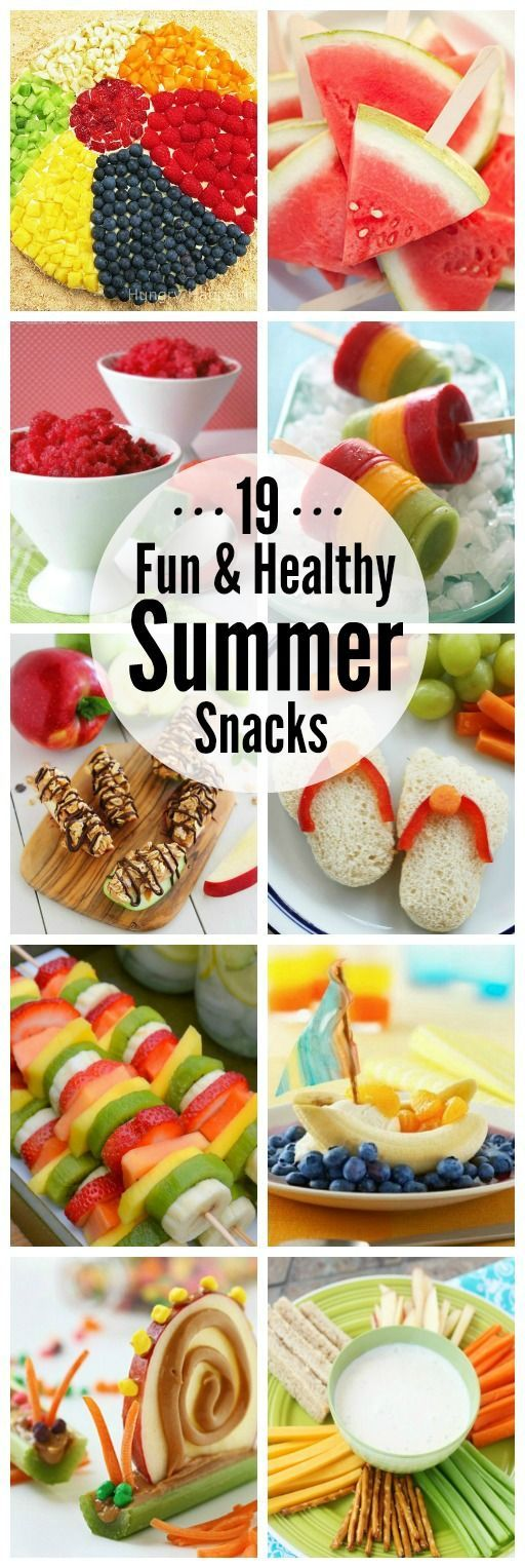 Summer is the perfect time to get your kiddos on a healthy eating routine. Give one of these healthy summer snack ideas a try - your kids will love them!