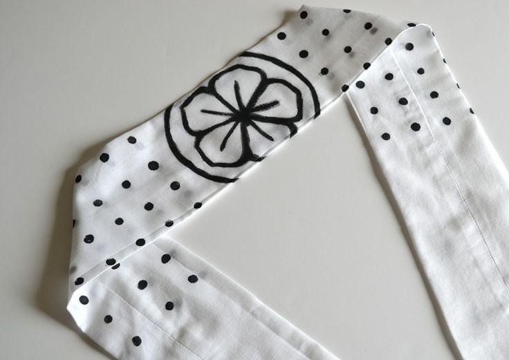 DIY Karate Kid Headband (Pattern included)