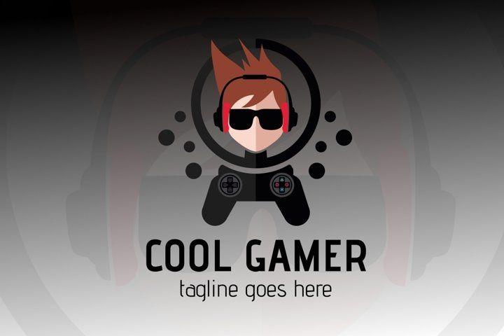 Cool Gamer Logo 654374 Logos Design Bundles Game Logo Logo Design Gamer