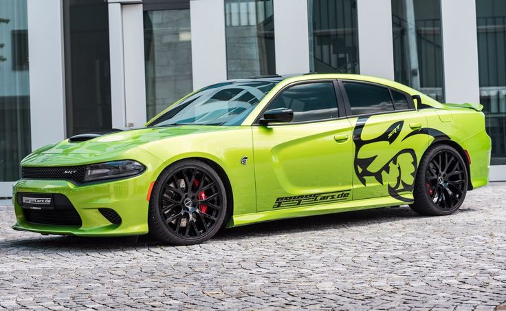 Dodge Charger SRT Hellcat by GeigerCars