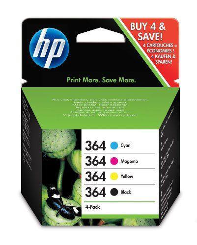 #Bürobedarf - HP Original Tintenpatrone 364 (dreifarbig + schwarz, Kombipack 250/300/300/300 Seiten) SD534EE [Listenpreis: EUR 28,98 - Kaufen Neu: EUR 15,99 ]