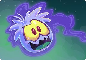 ghost puffle Club Penguin