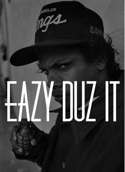 Eazy-E // #xorm *it's easy to be at ease*//
