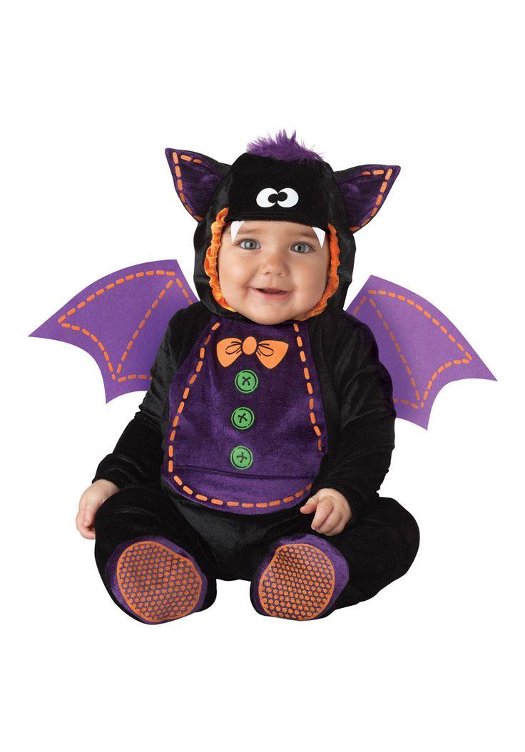 Baby Bat Costume, Infant & Toddler Halloween Fancy Dress - Halloween at Escapade™ UK