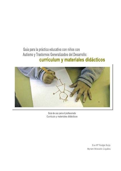 Guía para la practica educativa con niños con autismo y tgd