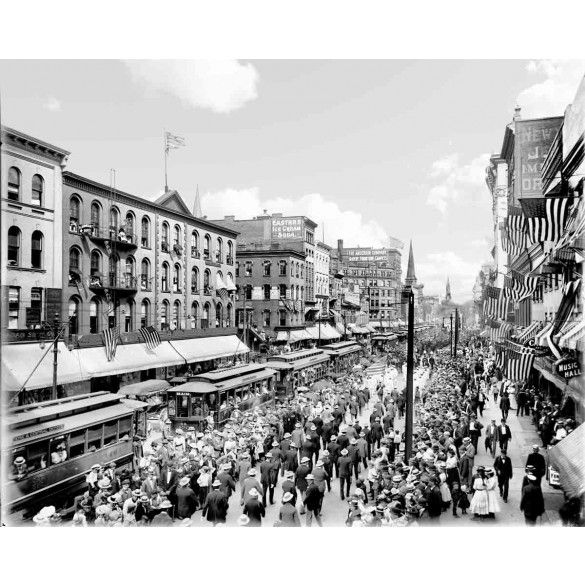Labor day main st buffalo n y c1901