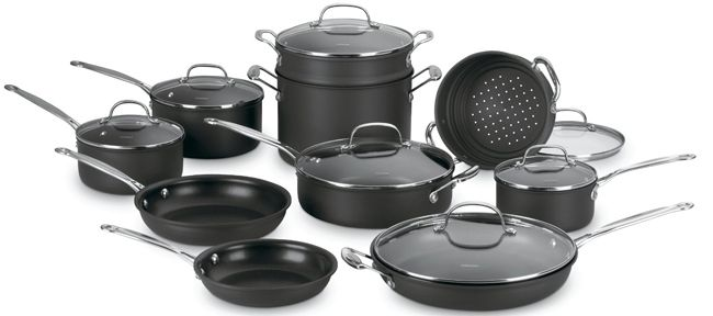 Kitchen Pan Set Cuisinart With Induction Cooktop
