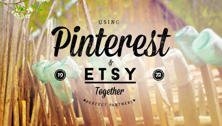 Julie Grandbois has mastered the art of combining both the Etsy and Pinterest platforms to create her small business. Learn how to use ETSY and Pinterest, together.