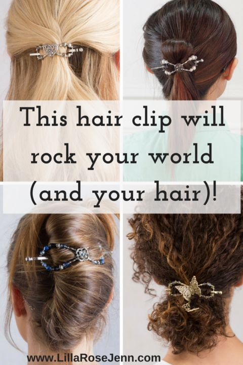 Gorgeous and functional hair clips to rock your world and your hair | Lilla Rose | hair accessories | hair styles