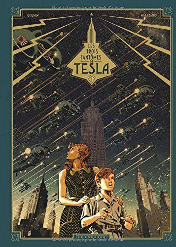 """#Livre #Chronique #BookReview - Venez découvrir sur mon blog ma toute nouvelle lecture, une magnifique BD signée Guilhem et Marazano: """"Les Trois fantômes de Tesla"""", un mystère scientifique et technologique sur fond de Seconde Guerre mondiale..."""