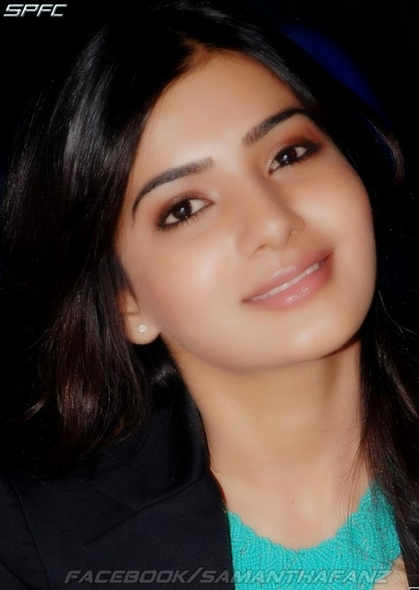 The Gorgeous Tollywood Actress Samanth with beautiful looks
