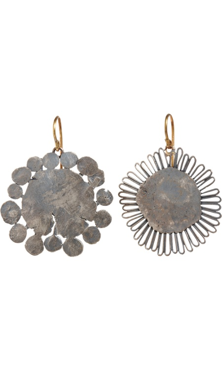 Judy Geib Flowery Earrings