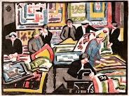 The wool quilt makers c.1940-41  Dorrit BLACK